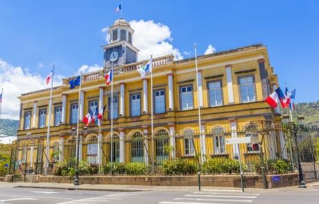 mairie de Saint-Denis, île de la Réunion